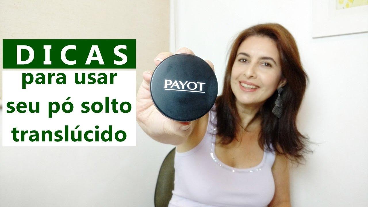 41a4be0bec2 DICAS para usar pó translúcido mate Payot - YouTube