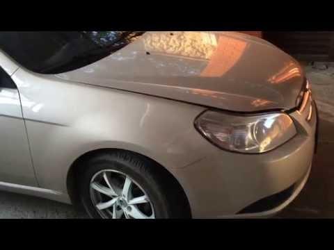 Раздуло и порвало патрубок отопителя на Шевроле Эпика 2011 год Chevrolet Epica