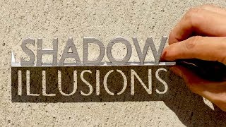 Shadow Optical Illusions w/ Zach King