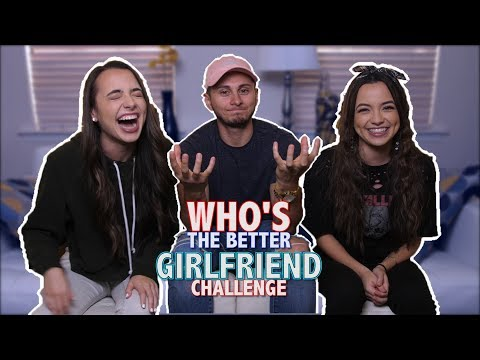 Who's the Better GIRLFRIEND Challenge (ft. The Merrell Twins)