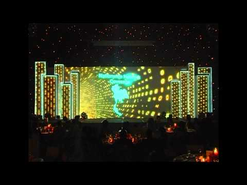 Interlink Telecom Grand Opening Video Mapping