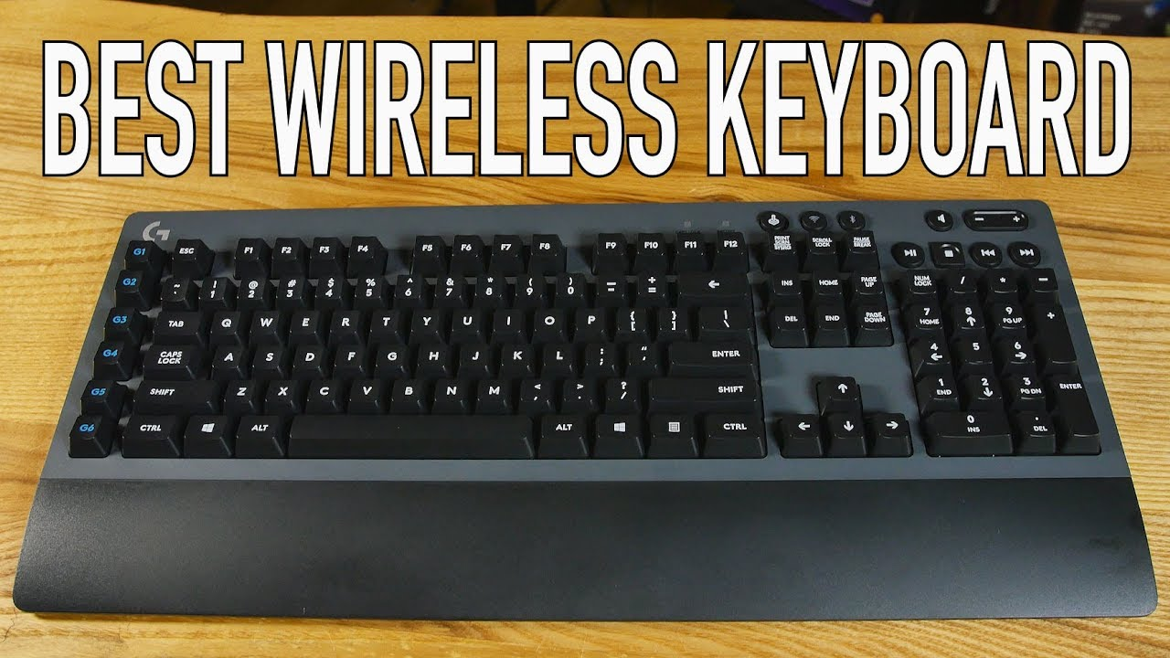 Logitech G613 | The Best Wireless Gaming Keyboard Ever