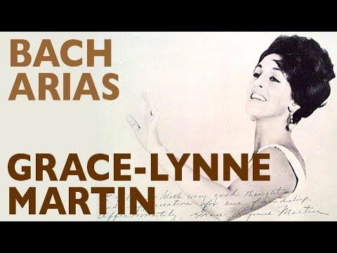 Grace-Lynne Martin, soprano - Two Bach arias
