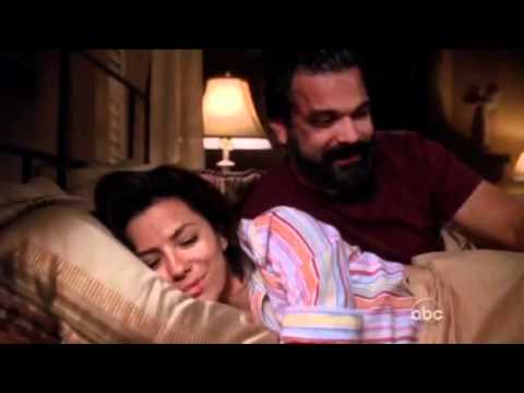 The MOST Awesome scene of Desperate Housewives - Gaby and Carlos Are Sleeping