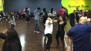 Salsa & Bachata Night with Latin Dance Vibe at Spotlight Studio