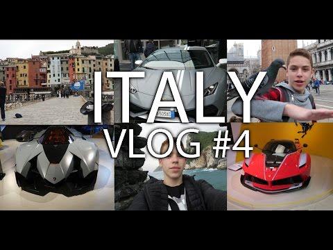 ולוג איטליה   חלק 4   המכוניות הכי מטורפות בעולם!