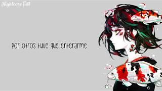 Nightcore - Without Me (spanish version) | Lyrics