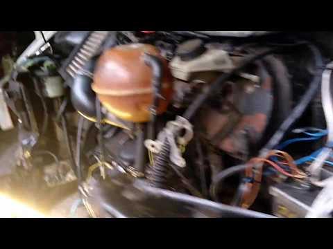 Volkswagen Transporter VW T4  ремонт подкапотной проводки