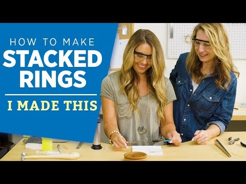 How to Make Stacked Rings | I Made This