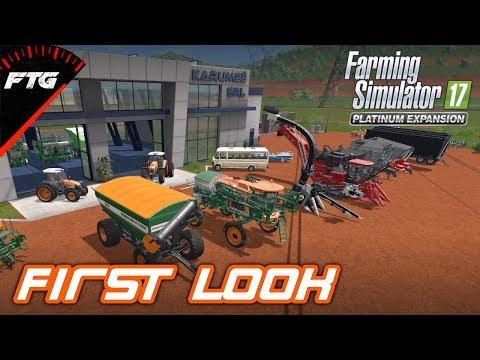 NEW PLATINUM DLC (OVERVIEW) | Farming Simulator 17