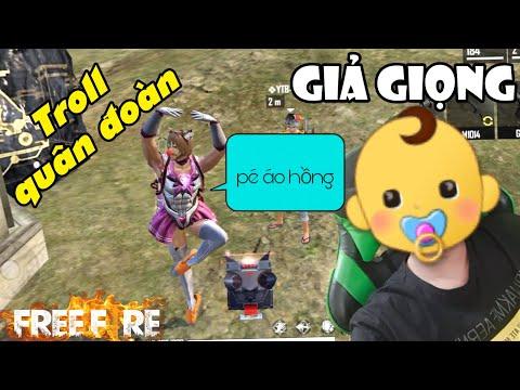 [Free Fire] Dùng Phần Mềm Giả Giọng Thành Trẻ Trâu Troll Quân Đoàn YTB   Meow DGame