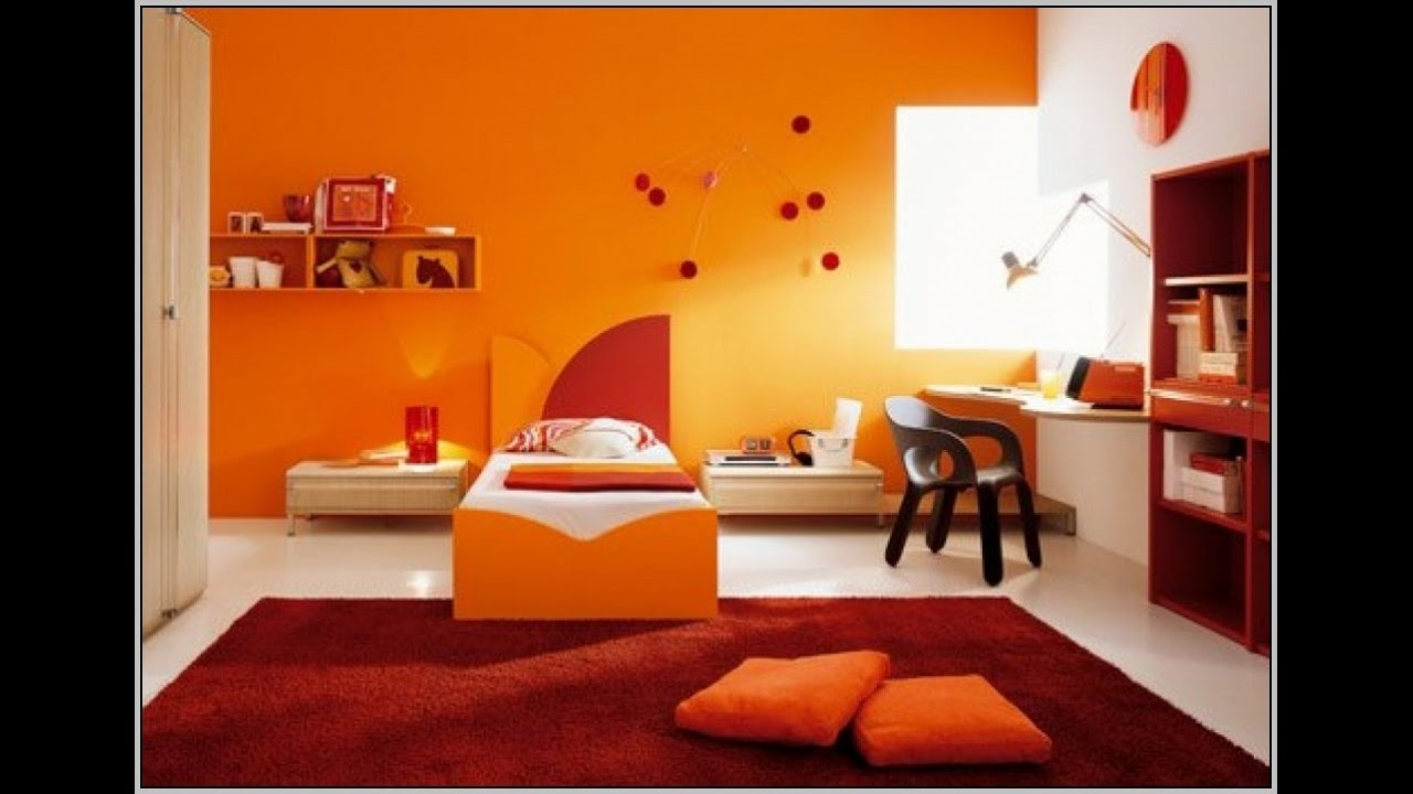 Bedroom painting ideas orange -  Bedroom Living Room Colour Ideas Bedroom Color Ideas I Master Bedroom Color Ideas