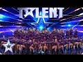 Funky Feet wow with FIERCE audition | Auditions | BGT 2019