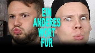 EIN ANDERES WORT FÜR!!