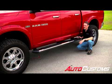 Iron Cross Patriot Running Board Prouct Review at AutoCustoms.com