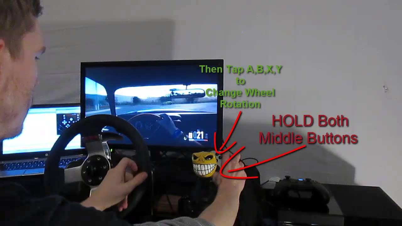 5a3dca0a20c CronusMAX - Forza Horizon 2 - How to Change G27 Wheel Rotation - YouTube
