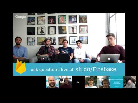 Firebase Office Hours: December 2016