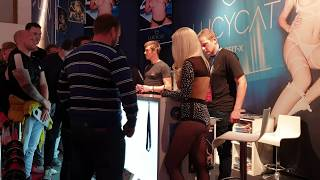 LUCY CAT PORNSTAR WITH FANS IN VENUS 2019 MESSE EROTIK FAIR (EUROPE AVN EXPO ) 4K 2160P
