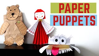 How to make Paper Puppets | Ea…
