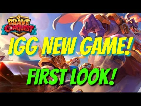 IGG NEW GAME! - Brave Conquest