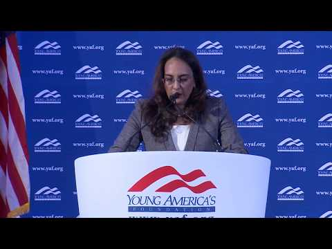 Harmeet Dhillon LIVE from GWU at YAF's 39th NCSC
