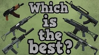 GTA online guides - Which assault rifle is the best?
