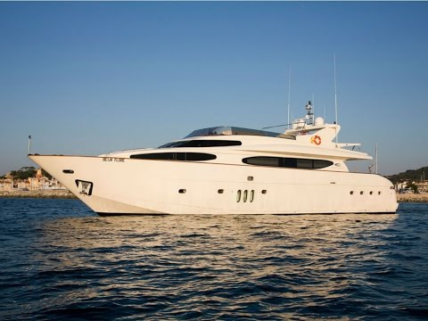 BEIJA FLORE Yacht for Charter French Riviera Eurocraft 29m 2007
