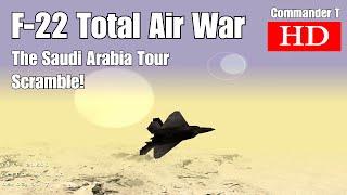F-22 TAW Total Air War Scramble 1080HD [Episode 37]
