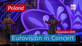 Poland Eurovision 2019 Live: Tulia - Fire of Love (Pali się) - Eurovision in Concert