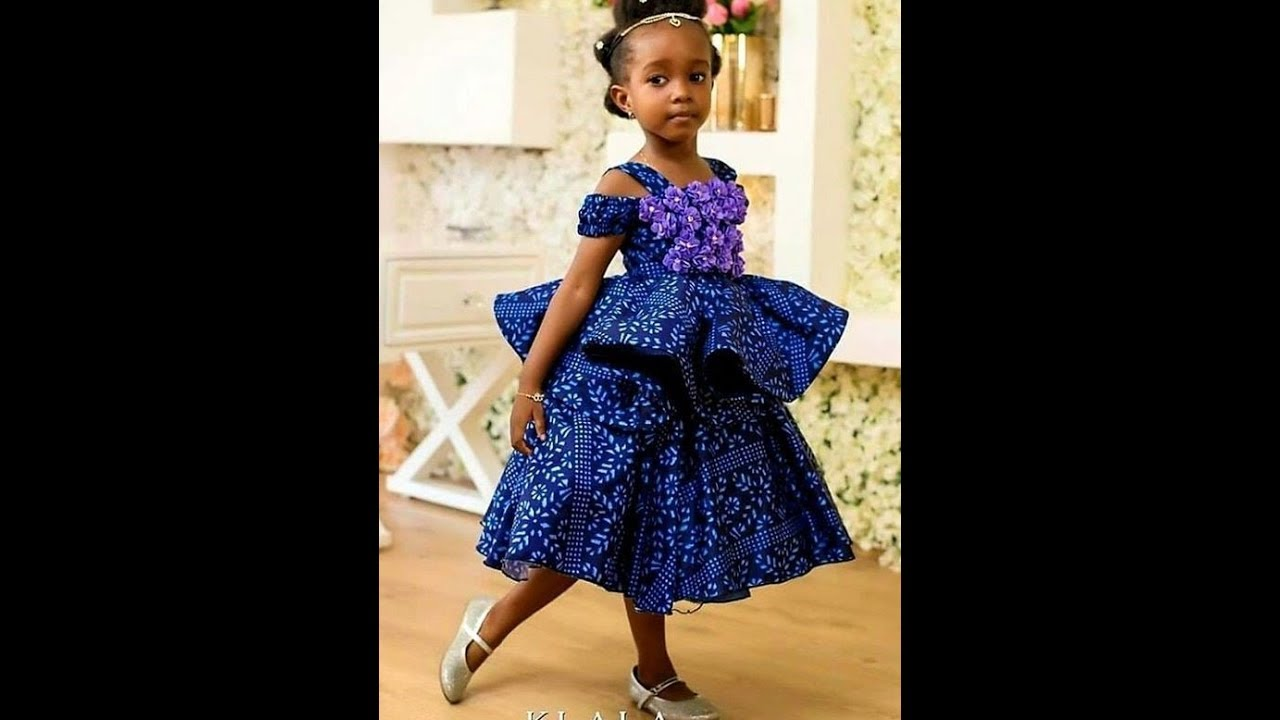 2019 2020 African Fashion Designs 50 Cute Designs For The Kids Girls Youtube