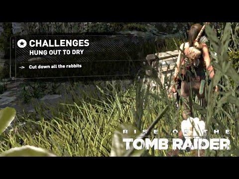 Rise of the Tomb Raider · Hung Out to Dry Challenge Walkthrough Video Guide