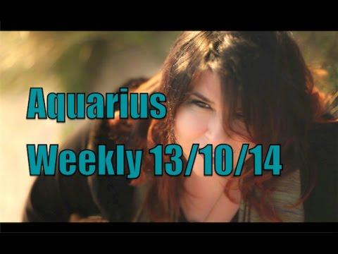 Aquarius Weekly Horoscope 13th October 2014 Michele Knight