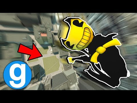New Rim Bendy Playermodel Ragdoll Fall [Garry's Mod Sandbox] Bendy and The Ink Machine thumbnail