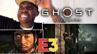 Ghost of Tsushima - E3 2018 Gameplay Debut | PS4 REACTION!!!