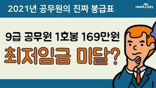 [뉴스투데이 카드뉴스] 2021년 공무원의 2021 &…