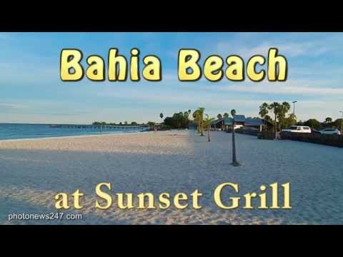 Bahia Beach At Sunset Grill Ruskin Fl