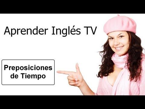 Aprender ingl s preposiciones de tiempo at in on for Tiempo aprender ingles