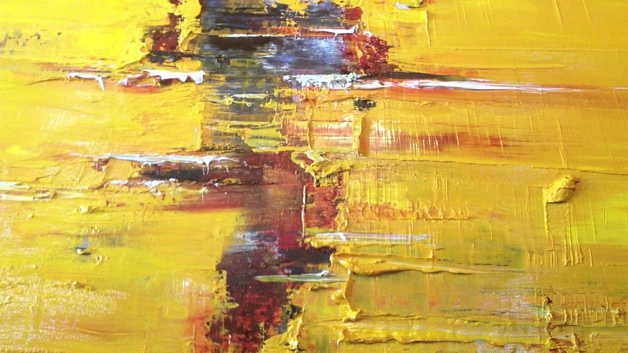 Modern Abstract Oil Painting Techniques