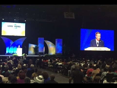 Gov. John Kasich - 2016 NAACP Convention in Cincinnati