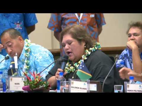 CAPP 2017: Leaders response by the Nauru Ambassador Marlene Moses