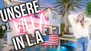 Unsere riesige HAUSTOUR aus unserem 2. Haus in L.A 😍 | DAGI VLOG