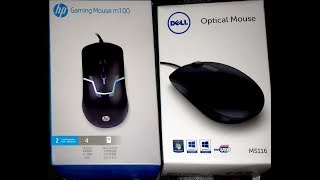 Dell Optical Mouse Unboxing