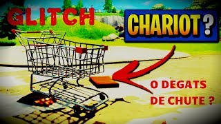 GLITCH: DO NOT TAKE OF CHUTE DAMAGE WITH CHARIOT (FORTNITE BATTLE ROYALE)