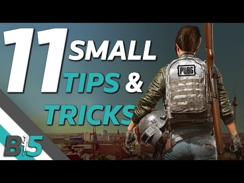 PUBG TIPS And TRICKS | 11 Small Things That Will Improve Your Game (Xbox One/PS4)
