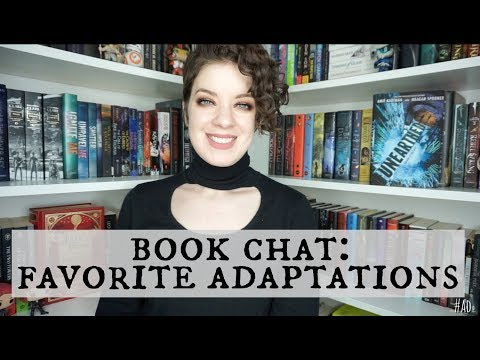 Favorite Book-to-Movie Adaptations | BOOK CHAT #ad #Unearthed