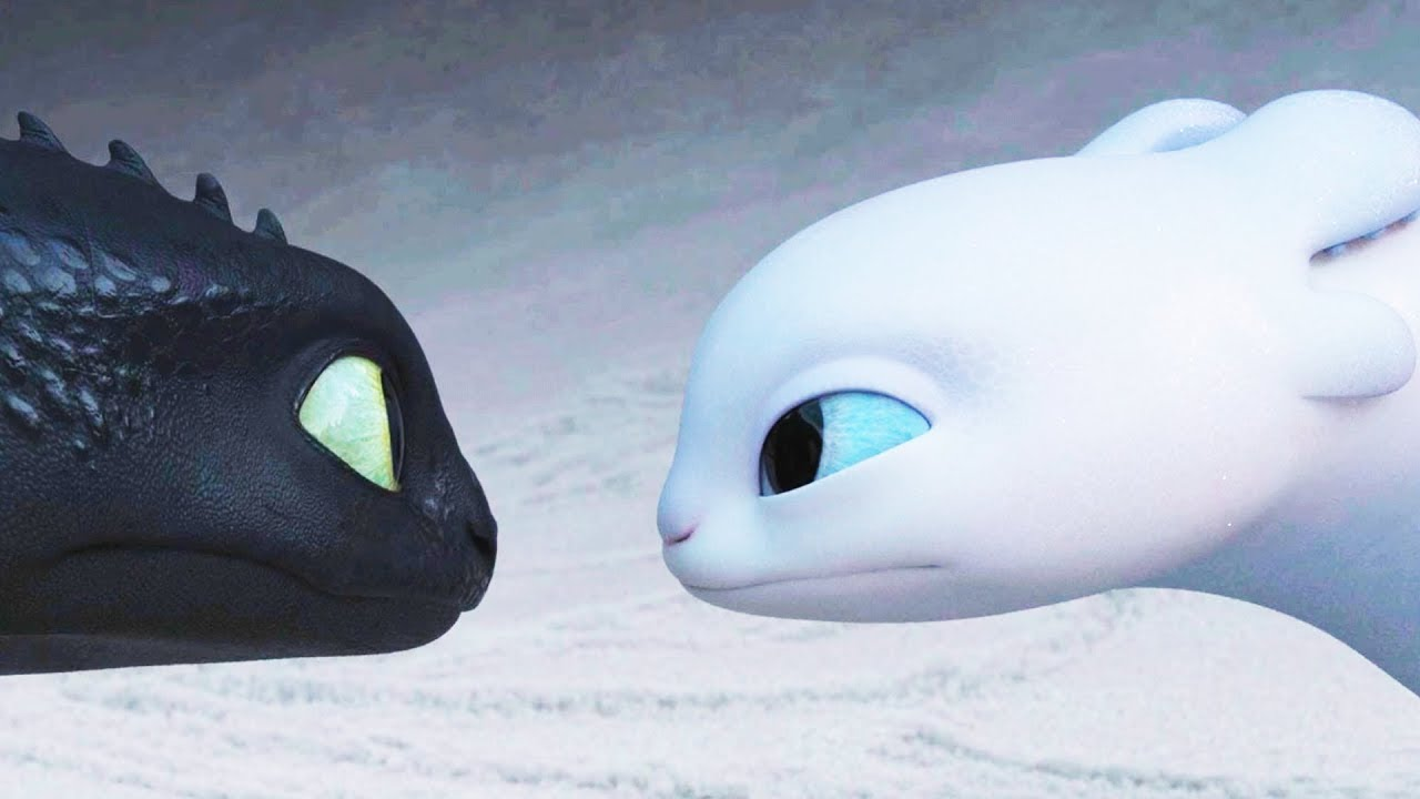 Cute Stitch On Side Wallpaper It S Light Fury Toothless Girlfriend How To Train Your