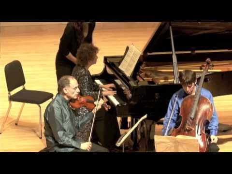 Weiss-Kaplan-Newman Piano Trio Plays Beethoven's Piano Trio in c minor, Op.1 No.3, 1st mov.