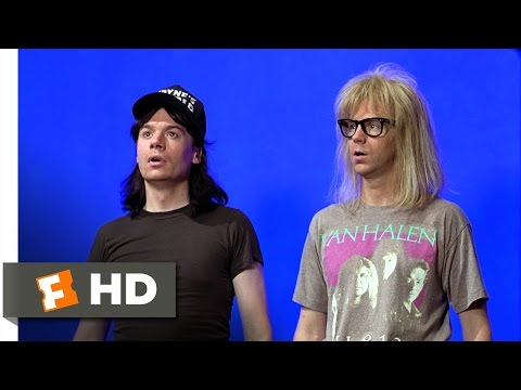 Wayne's World (4/10) Movie CLIP - Exciting Delaware (1992) HD