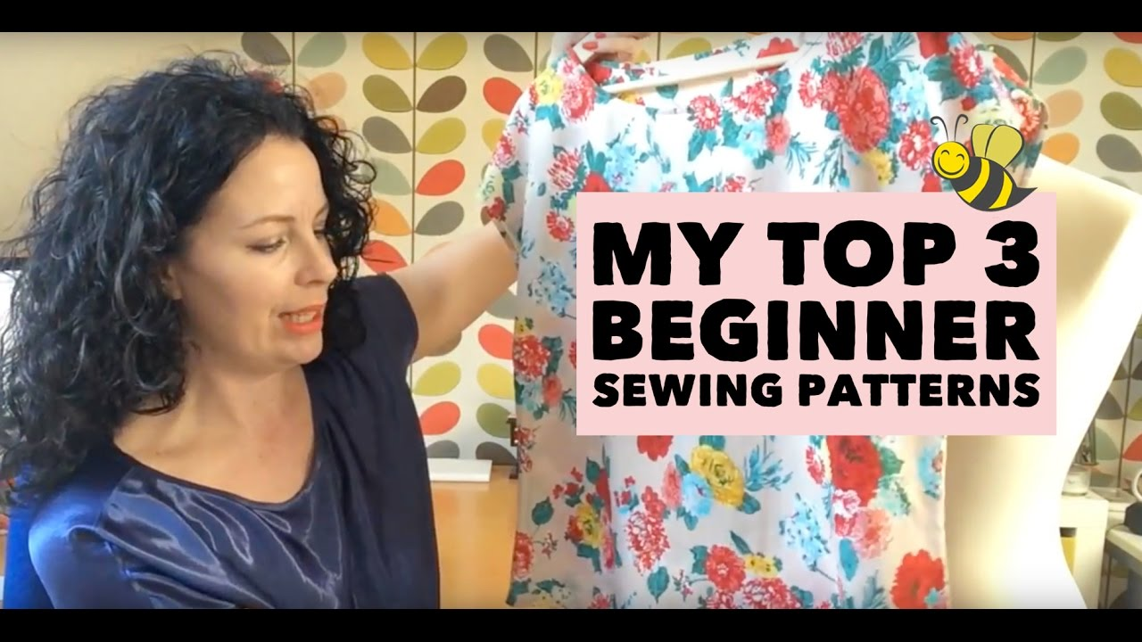 Sewing patterns for beginners my top 3 youtube sewing patterns for beginners my top 3 jeuxipadfo Image collections