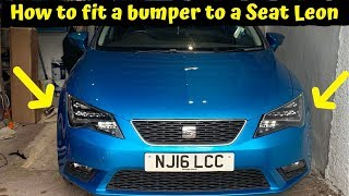 Fitting the bumper mirrors and seats to the Leon thumbnail